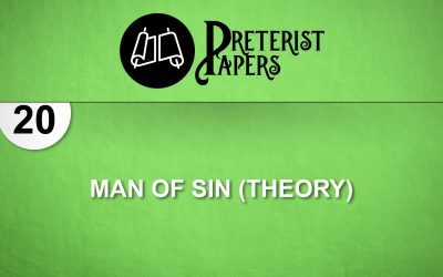 20 Man of Sin (Theory)