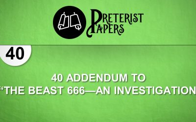 40 Addendum to Beast 666